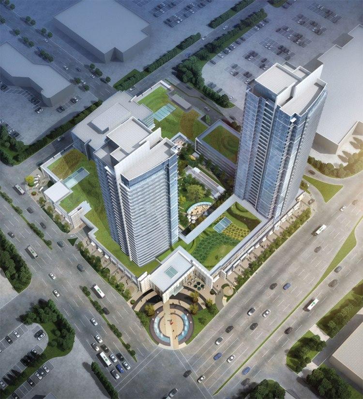 centro-square-aerial-view